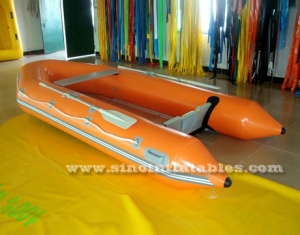 Bote inflable para 2 personas.