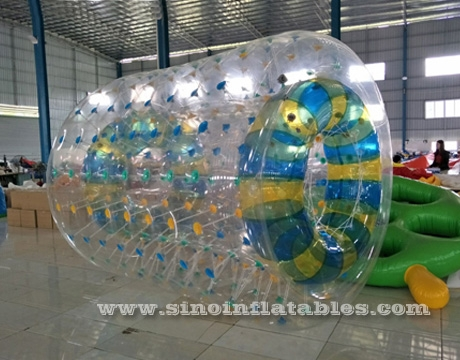 TPU inflatable water walking roller ball for kids and adults