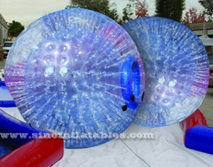 mejor claro pvc inflable bola de hámster humano