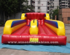 Bungee inflable de doble carril