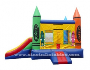 Crayon House Kids Inflable Juego Combo Inflable
