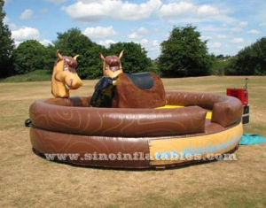 paseo a caballo de machanical inflable