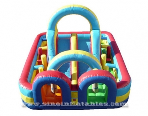 juego interactivo inflable gigante