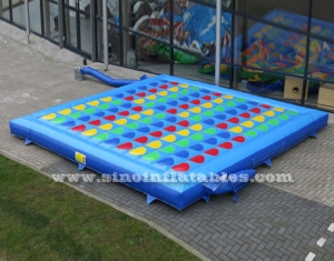 colchón inflable twister