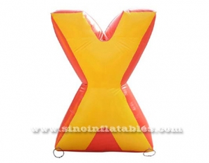 búnker de paintball inflable gigante x