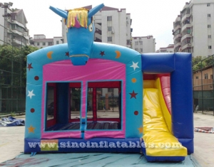 venta caliente caballo inflable combo