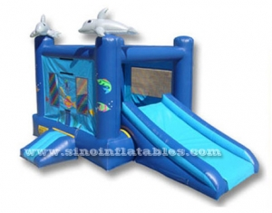 tema del océano combo moonwalk inflable
