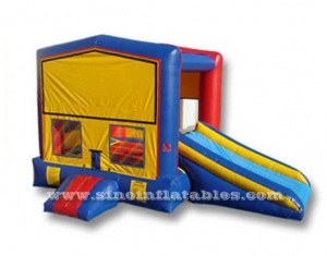 Infantil modulo inflable combo casa rebote