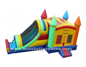 cohete inflable combo castillo hinchable