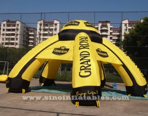 Gran ceremonia real carpa inflable