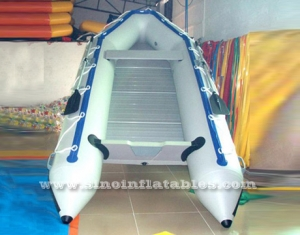 Bote inflable bote inflable de aluminio para 8 personas.