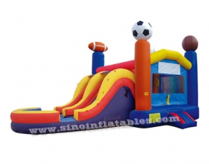 inflable comercial super deportivo combo gorila