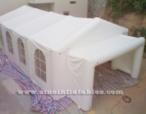 gran casa movible carpa hinchable fiesta de boda blanca