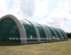 Marco hermético arena deportiva carpa inflable gigante