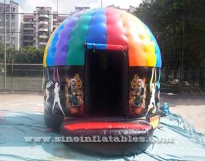 música inflable disco cúpula castillo hinchable
