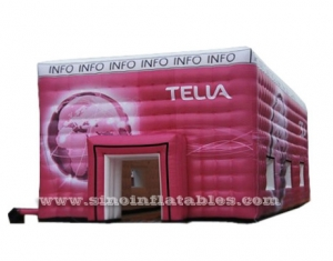 gran carpa inflable roja