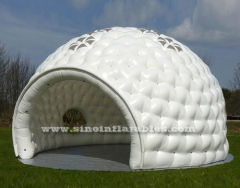 10 metros de dia. carpa de golf inflable grande blanco
