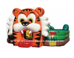 juego inflable tigre
