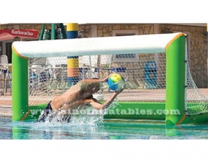 gol de inflables para adultos de water polo