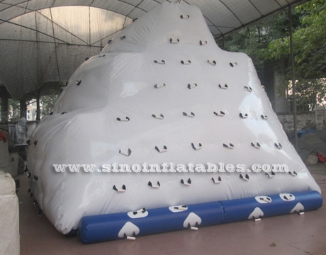 Custom made kids inflatable water iceberg