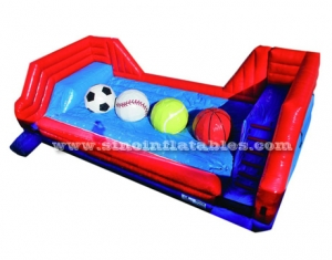 solo carril adultos limpie inflable gran baller