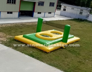 cancha de bossaball inflable