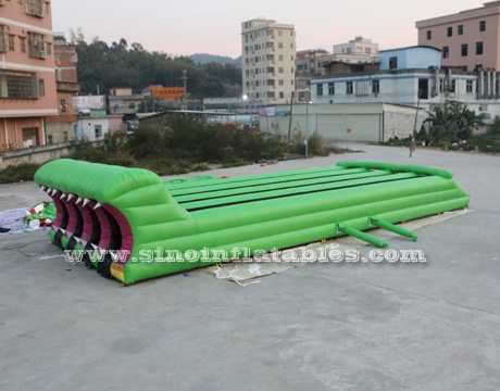 kids N adults interactive inflatable tunnel obstacle course