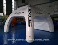movable airtight inflatable advertising tent