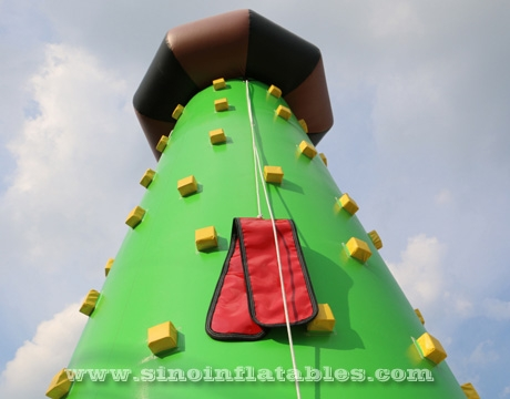 kids inflatable inflatable rock climbing wall