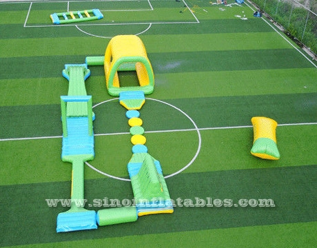 Inflatable Water Floating Obstacle Course