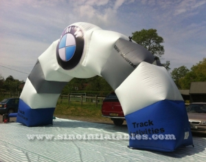 arco inflable bmw comercial