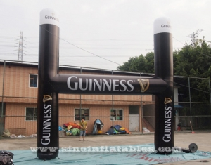 gran guinness publicidad arco inflable