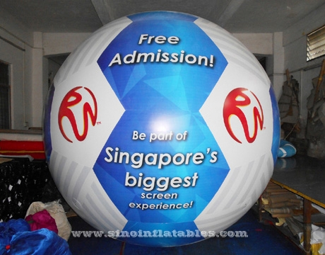 inflatable Helium balloon with LED lights