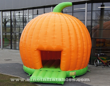 Halloween pumpkin inflatable bouncy castle