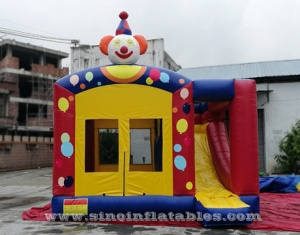 castillo hinchable inflable pop payaso