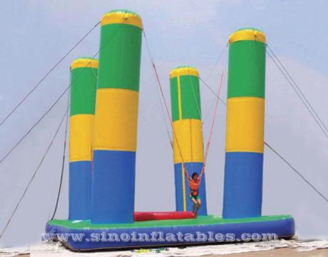 adults giant inflatable bungee jump