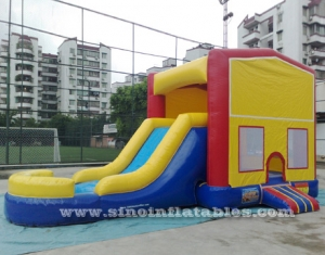 Juego combo inflable con tobogán n.