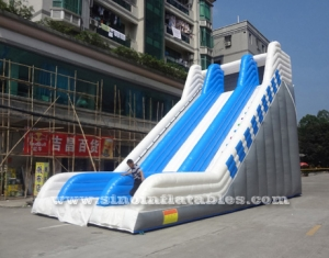 diapositiva inflable gigante del adulto everest comercial