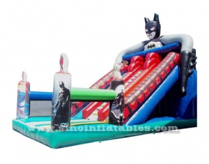 super héroe batman tobogán inflable