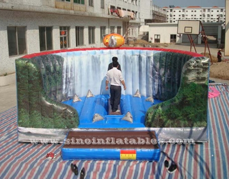 inflatable sport games rotative beam