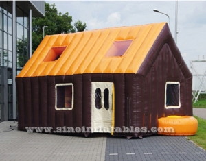 casa inflable tipo carpa exterior