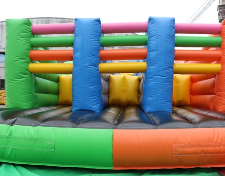 inflatable adults 5K obstacle course