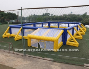 campo de búnker de paintball inflable gigante