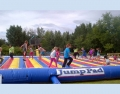 big bounce inflatable jump pad