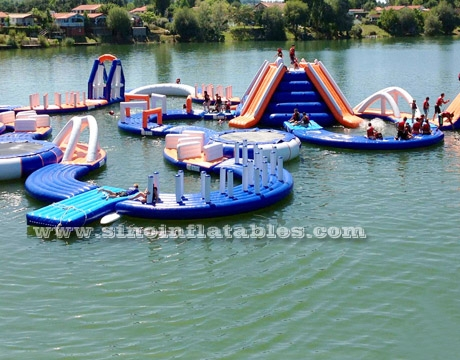 kids N adults giant inflatable water floating playground
