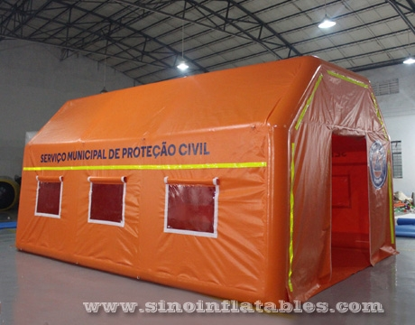 airtight portable inflatable medical tent