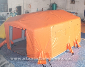carpa de hospital inflable portátil