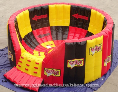 adults interactive inflatable vortex competition game