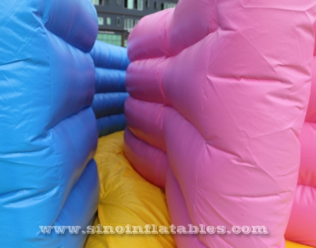 adult boot camp inflatable maze obstacle course
