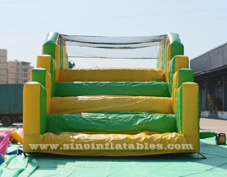 long adult boot camp inflatable obstacle course